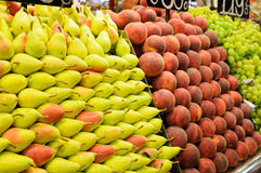 Fruit market Royalty Free Stock Photos