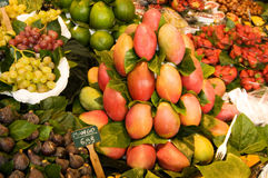 Fruit market Stock Photos