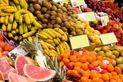 Fruit market Stock Photo