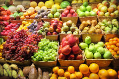 Free Fruit Market Royalty Free Stock Photography - 24373697