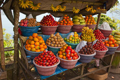 Fruit market Stock Image