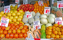 Fruit Market Stock Photography