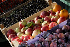 Fruit at the market Stock Photo