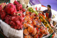 Fruit market Royalty Free Stock Photography