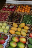 Fruit_Market_Amsterdam_2 Fotografia de Stock