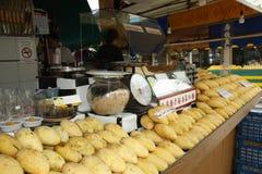 Fruit market in Bangkok Stock Photography