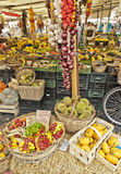 Fruit market. Colorful fruit market in the centre of old town Royalty Free Stock Photos