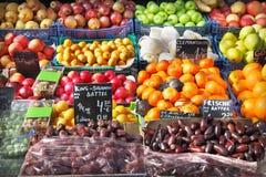 Fruit market Stock Images