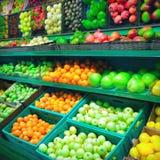 Fruit market Stock Photos