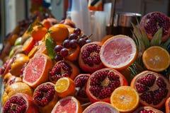 Fruit market in Istanbul Stock Image
