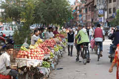 Fruit Market Kathmandu Royalty Free Stock Photo