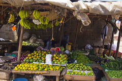 Fruit market in Kenya Royalty Free Stock Photo