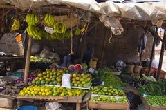 Fruit market in Kenya royalty free stock photo