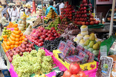 Fruit market in Kolkata Royalty Free Stock Photo