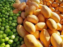 Fruit in market royalty free stock photo