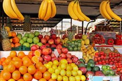 Fruit market stall Stock Photography