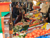 Fruit market stall Royalty Free Stock Photo