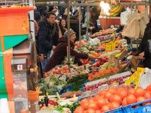 Fruit market stall Royalty Free Stock Photo