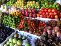 Fruit Market Vietnam Stock Photos