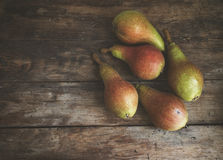 Fruit. Mature pears Stock Image