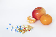 Fruit or medicine Royalty Free Stock Photos