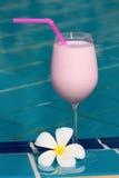 Fruit milk shake Royalty Free Stock Images