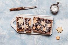 Fruit Mince Tart stock photo