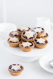 Fruit mince tarts for Christmas dinner Stock Photo