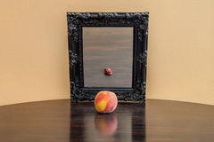 Fruit in the mirror Royalty Free Stock Image