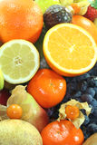 Fruit mix Stock Images