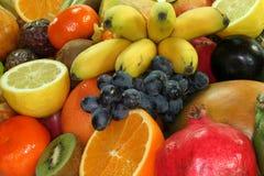 Fruit mix Stock Photos