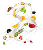 Fruit mix Stock Image
