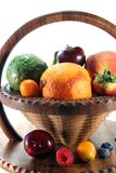 Fruit Mix in the basket Royalty Free Stock Photography
