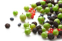 Fruit mix, berry Royalty Free Stock Image