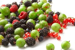 Fruit mix, berry Royalty Free Stock Images