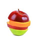 Fruit mix isolated stock photography