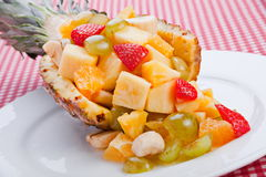 Fruit mix slice dessert Royalty Free Stock Photography