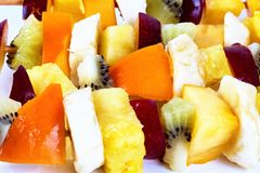 Fruit mix Stock Photo