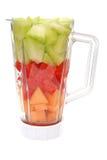 Fruit in Mixer stock fotografie