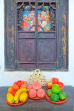 Fruit model stock image
