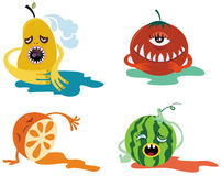 Fruit monster Stock Image