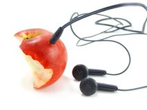 Fruit mp3-player Royalty Free Stock Photography