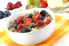 Fruit Muesli Royalty Free Stock Photo