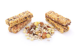 Fruit muesli Stock Photos