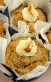 Fruit Muffins With Walnuts 2 Royalty Free Stock Photography