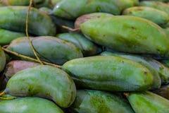 Fruit natural background; mango  closeup Royalty Free Stock Photos