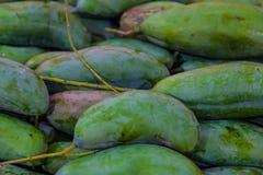 Fruit natural background; mango  closeup Royalty Free Stock Images