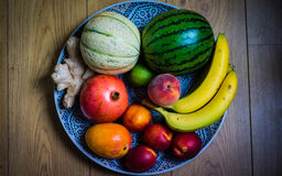 Naturel Fruit. Home Fruit Naturel Clean and fresh and the colors is great Royalty Free Stock Photo