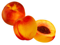 Fruit  nectarine Royalty Free Stock Images