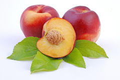Fruit - nectarine Stock Photo